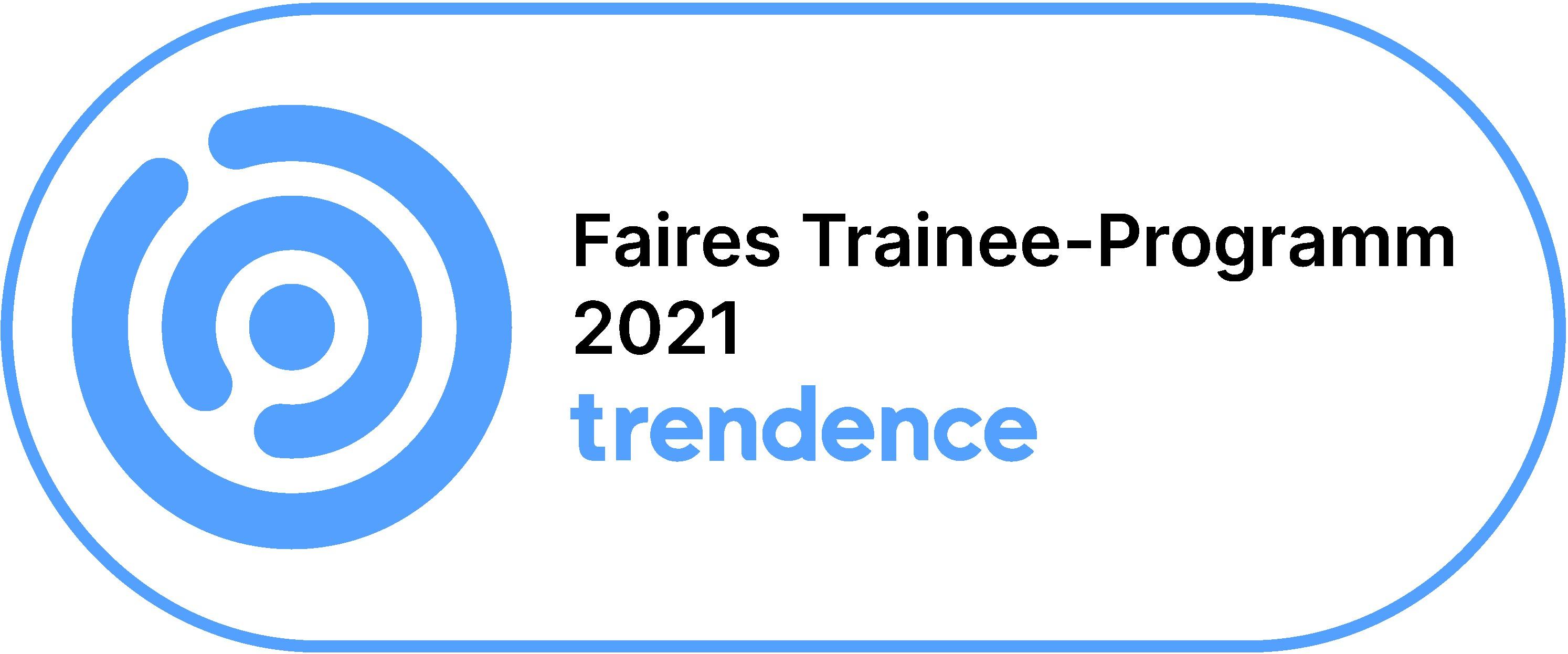 Award: Faires Trainee-Programm 2021