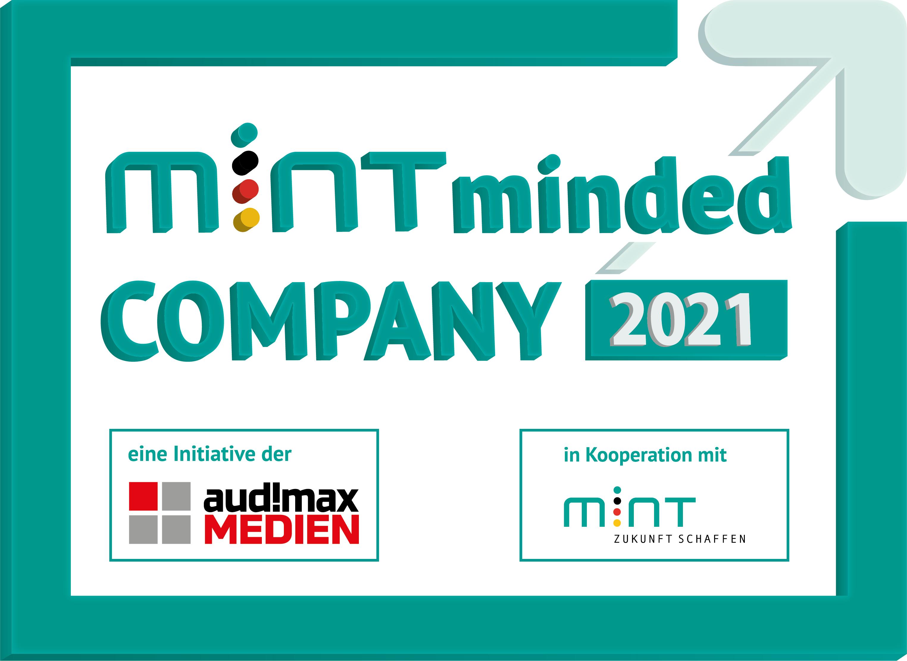 Award: Mint minded Company 2021