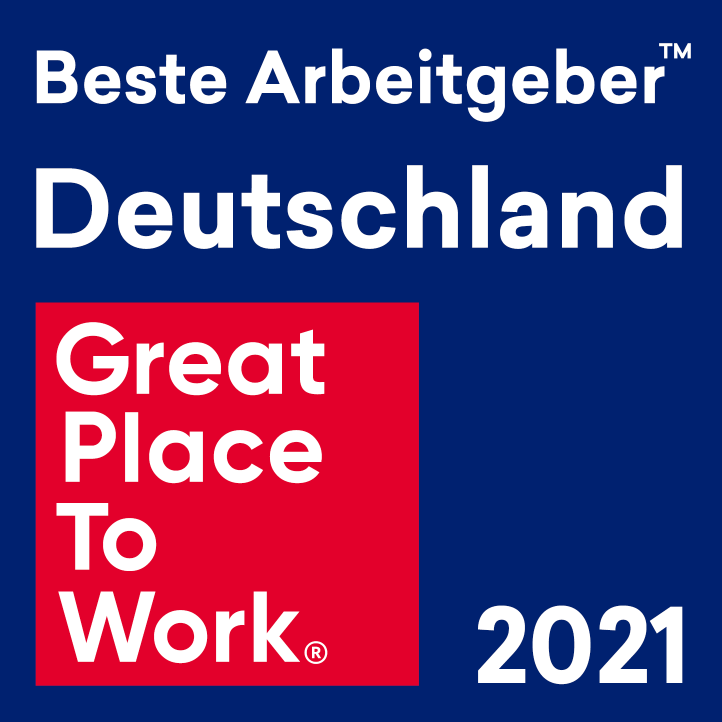 Award: Great Place To Work 2021